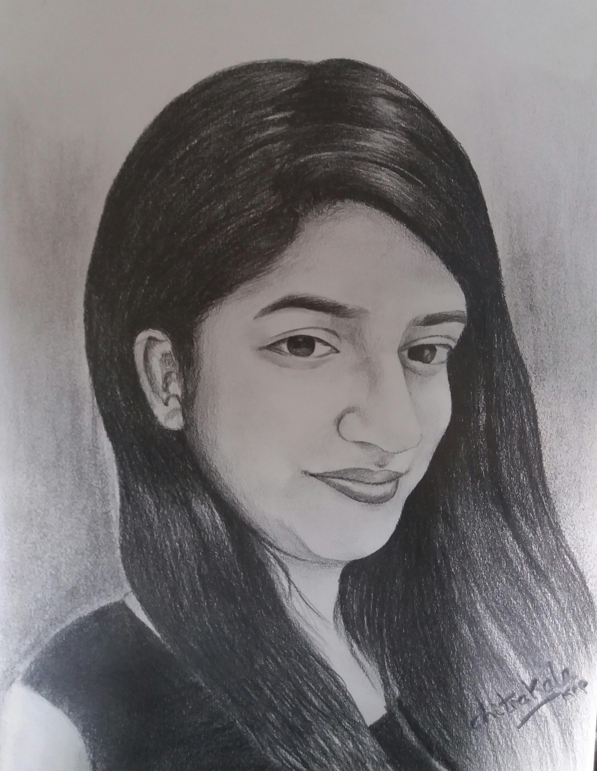 Sketch of a Teen Girl