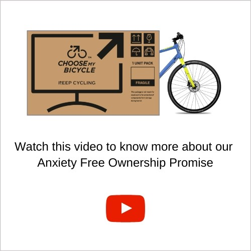 Anxiety Free Ownership Purchase | ChooseMyBicycle