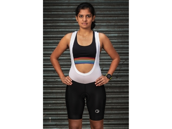 Apace Echelon Ladies Cycling Bib Shorts - Black