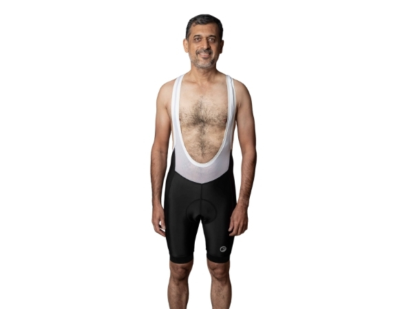 Apace Pronto Mens Cycling Bib Shorts - Black