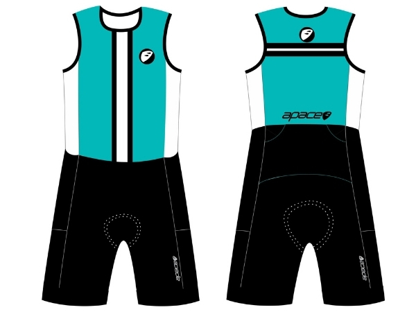 Apace Streamline SL Mens Triathlon Suit - Sea Green