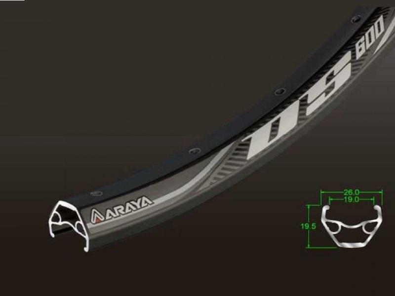 Araya Rim DS-600 26x1.50