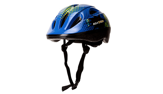 Bsa Champ Boys Toonz Blue Helmet