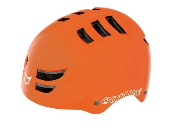 Catlike Freeride 360 BMX Helmet - Matte Orange