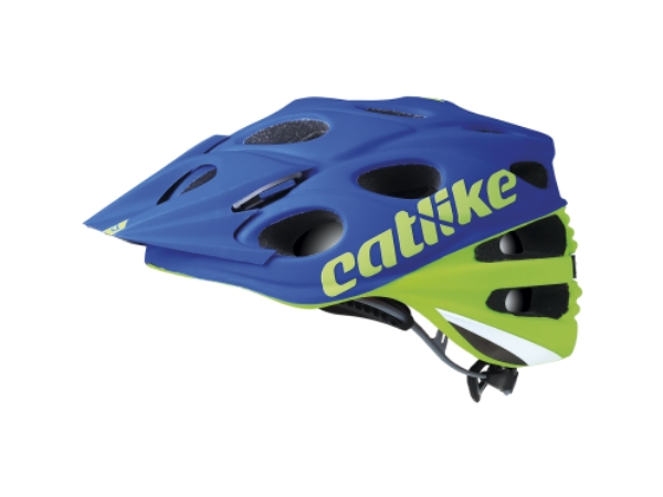 Catlike Leaf 2C MTB Helmet - Green/Blue