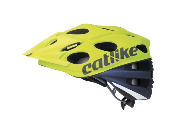 Catlike Leaf 2C MTB Helmet - Grey/Lime Green