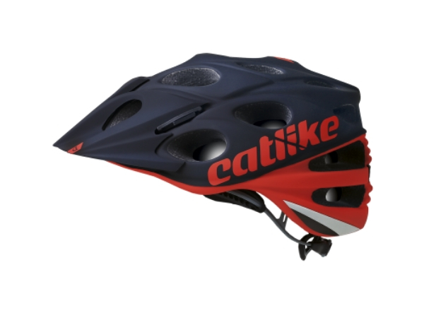 Catlike Leaf 2C MTB Helmet - Red/Black