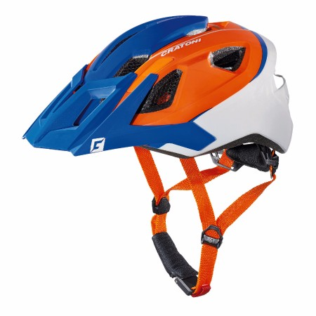Cratoni All Ride Blue/Orange
