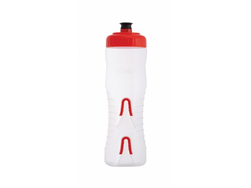 Fabric Cageless 750ml Sipper Clear/Red