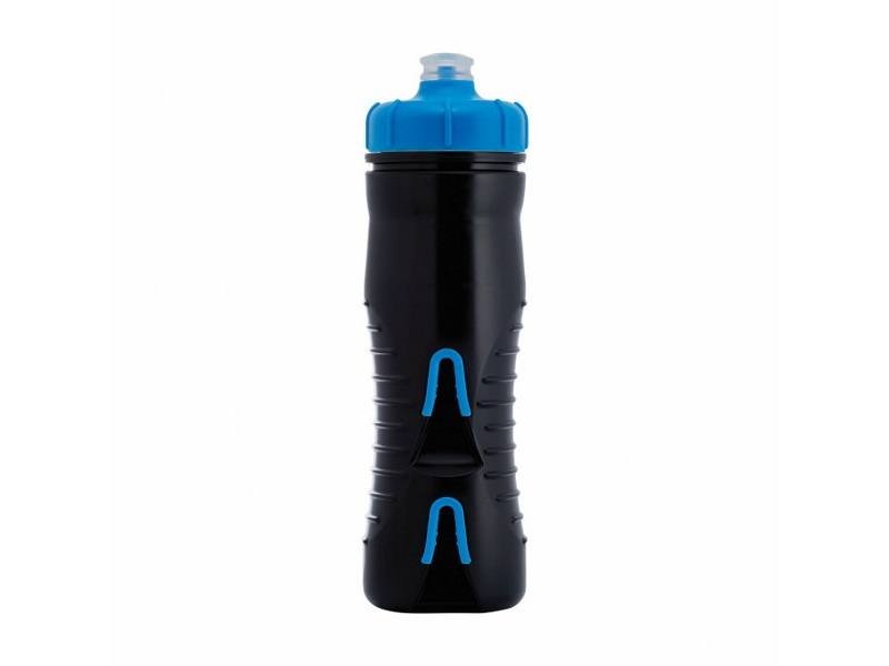 Fabric Cageless Insulated 525ml Black/Blue