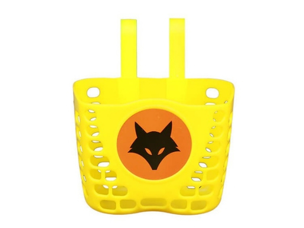 Firefox Bicycle Basket - Plastic - Yellow