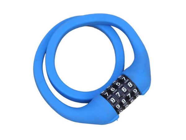 Firefox Bicycle Lock Spiral Combination Memory - Blue