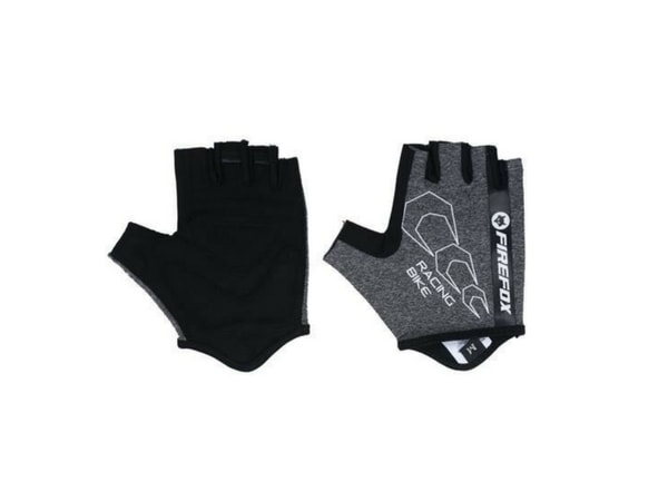 Firefox Cycling Gloves - Black/Grey