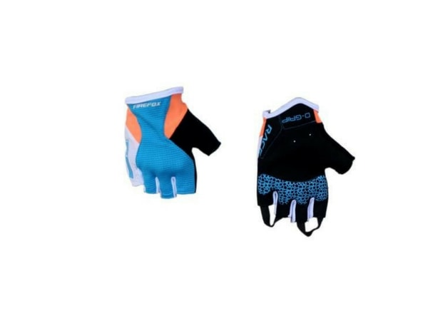 Firefox Cycling Gloves - Blue/Orange