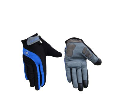 Firefox Full Finger Cycling Gloves - Black/Blue