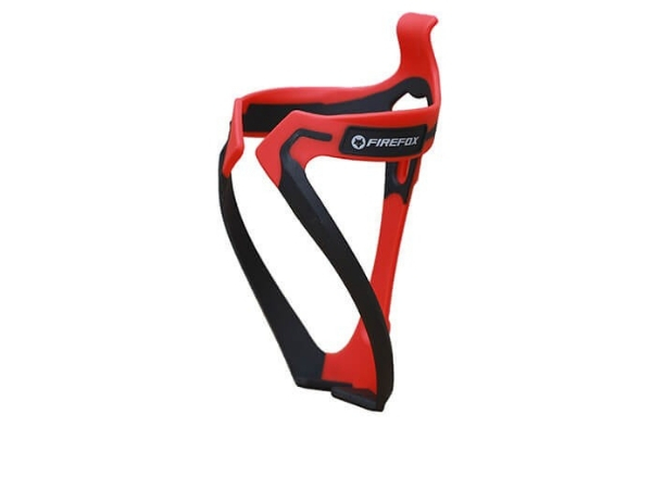 Firefox Plastic Bottle Cage - Red