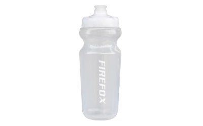 Firefox Plastic Water Bottle - Transparent White