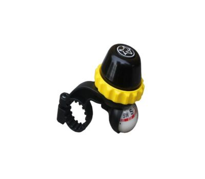 Firefox Rotating Bell with Compass - Black/Yellow