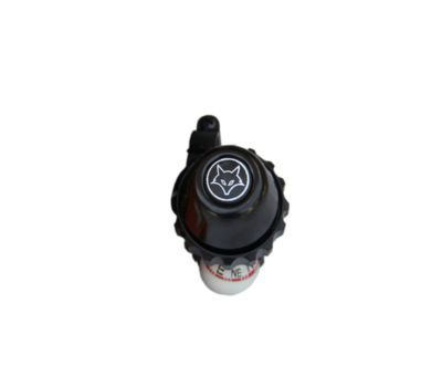 Firefox Rotating Bell with Compass - Black