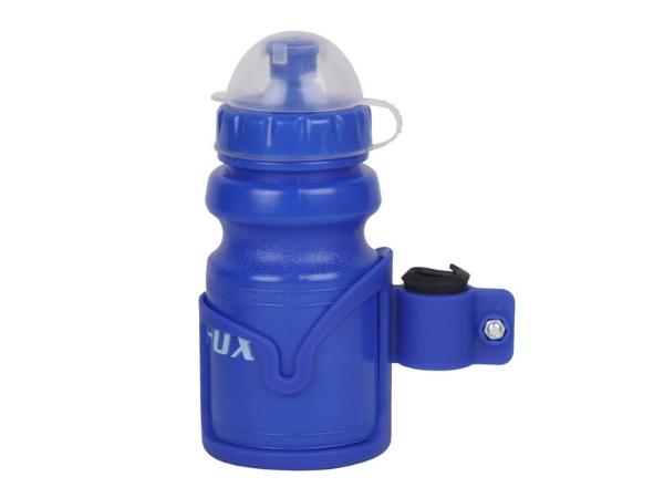 Firefox Water Bottle with Bracket - Blue