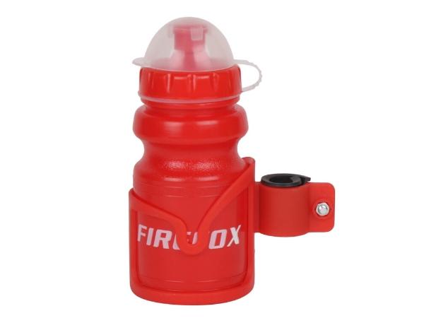 Firefox Water Bottle with Bracket - Red