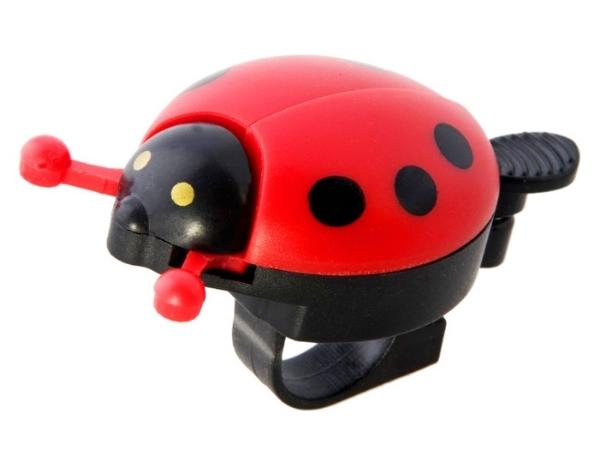 Frog Ladybird Bell