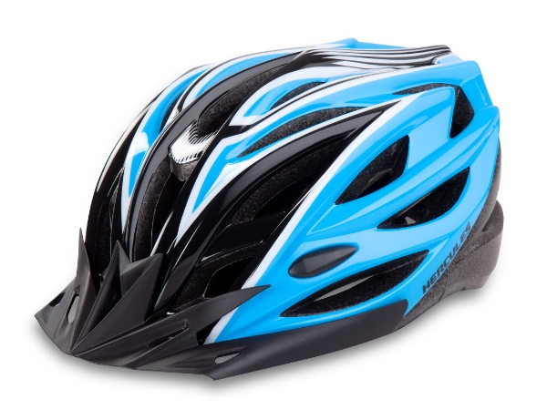 Hercules Cycling Helmet - Black/Blue