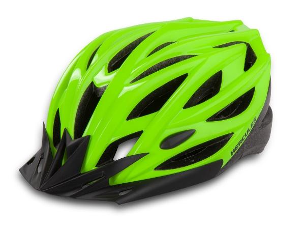 Hercules Cycling Helmet - Neon