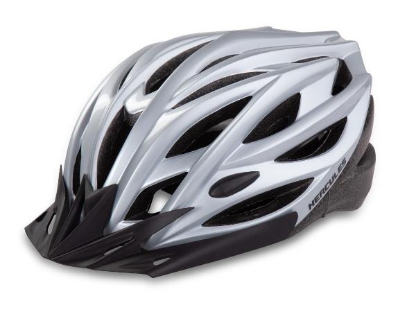 Hercules Cycling Helmet - Silver