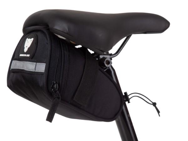 Hercules Saddle Bag - Black