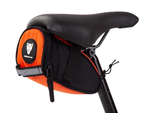 Hercules Saddle Bag - Orange