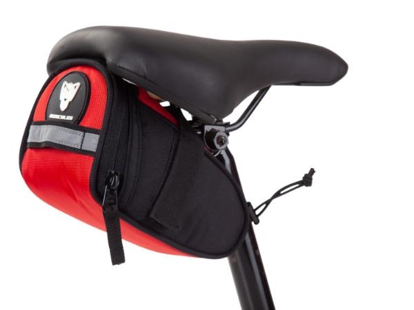 Hercules Saddle Bag - Red