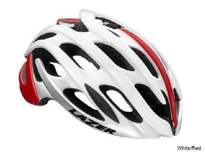 Lazer Blade - White Red Helmet