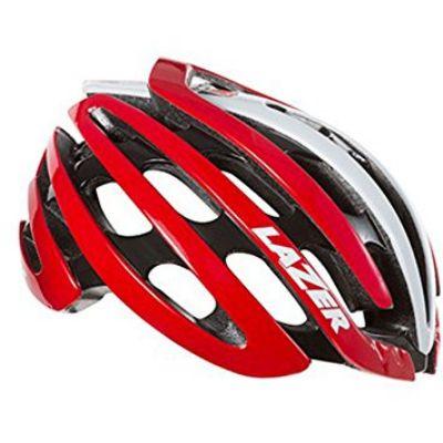 Lazer Z1 Red White Helmet