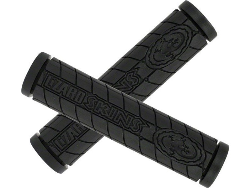 Lizard Skins Single Compound Logo Grip - Black