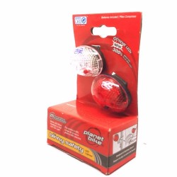 Planet Bike Blinky 1 Safety Light Set Combo