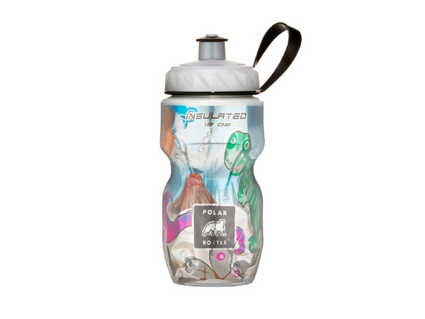 Polar Insulated Bottle 12oz - Dino Might