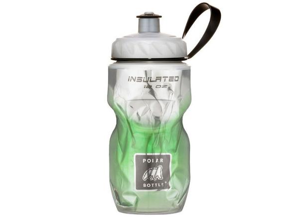 Polar Insulated Bottle 12oz - Fade Green