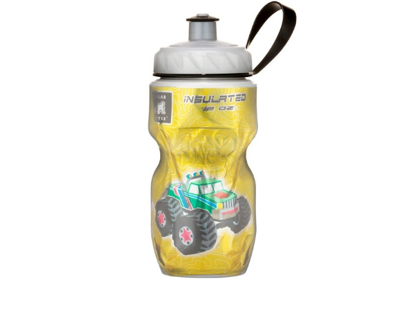 Polar Insulated Bottle 12oz - Monster Truck