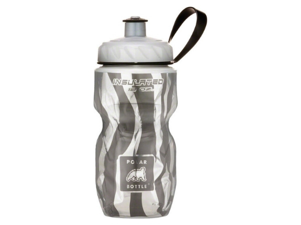 Polar Insulated Bottle 12oz - Zebra