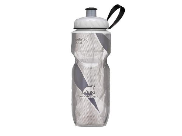 Polar Insulated Bottle 20oz - Black Pattern