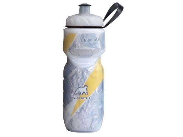 Polar Insulated Bottle 20oz - Yellow Pattern