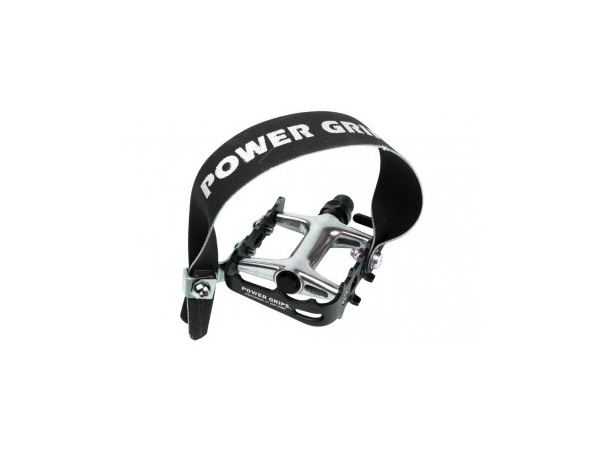 Power Grips Pedal Straps Long - Black