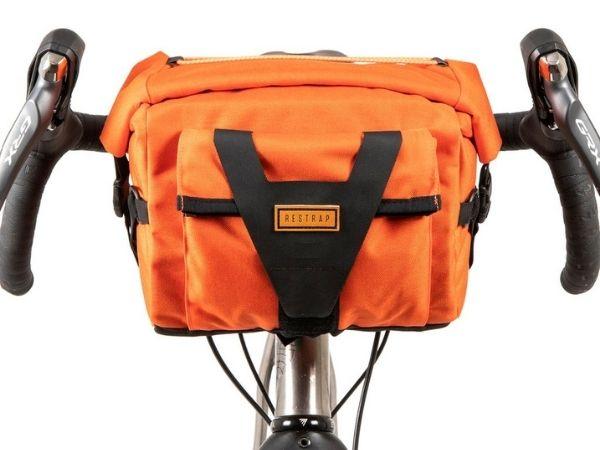 Restrap Handlebar Pack - Orange