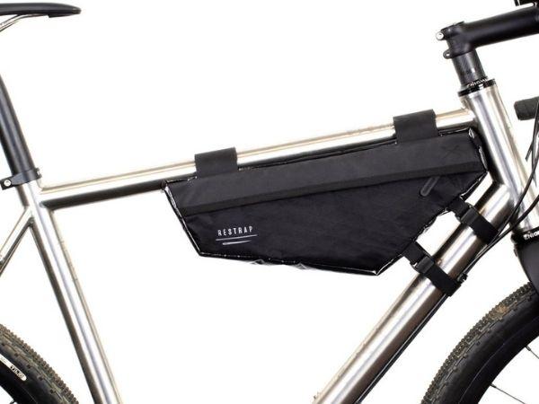 Restrap Race Frame Bag - Black