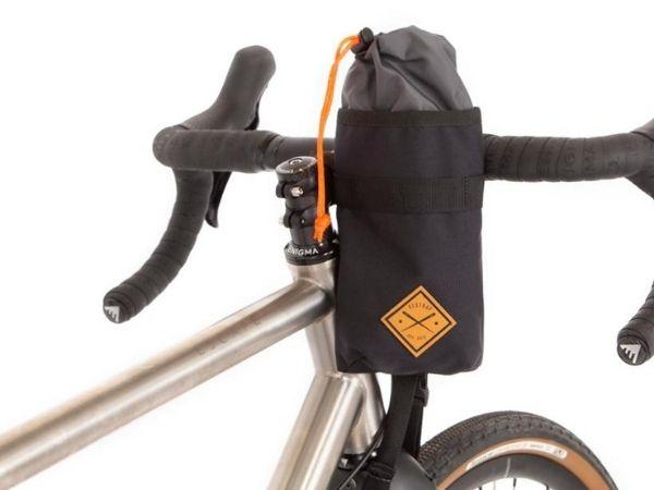 Restrap Stem Bag - Black