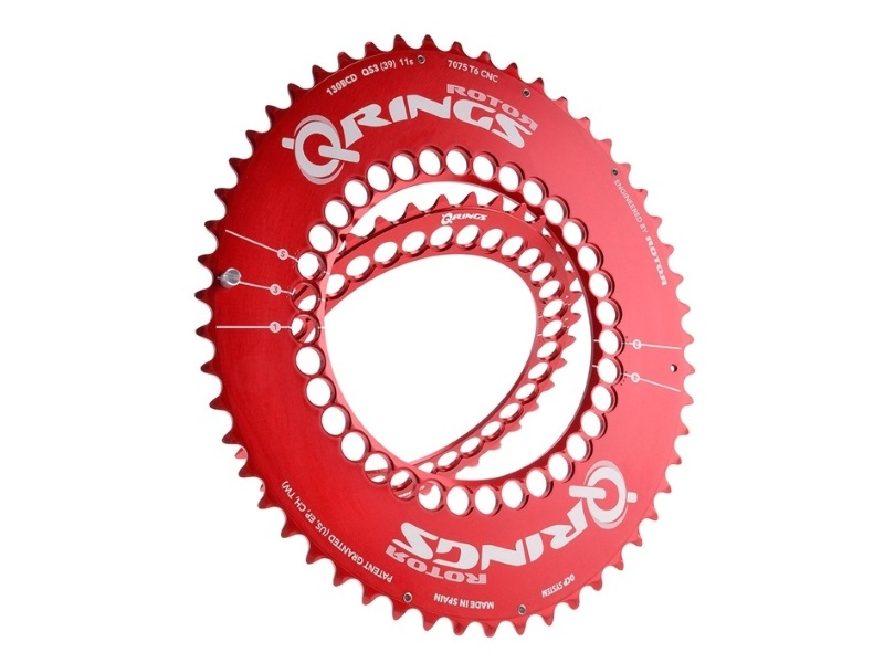 Rotor Q Ring BCD 110 Outer 52T Red