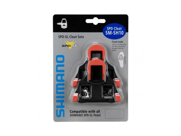 Shimano SPD-SL Cleat Set SM-SH10 Red