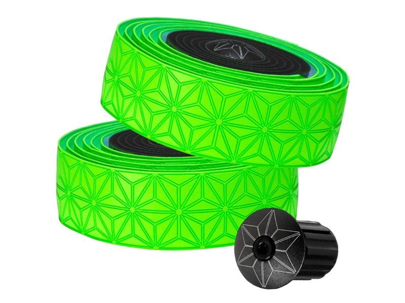 Supacaz Star Fade Bartape - Neon Green