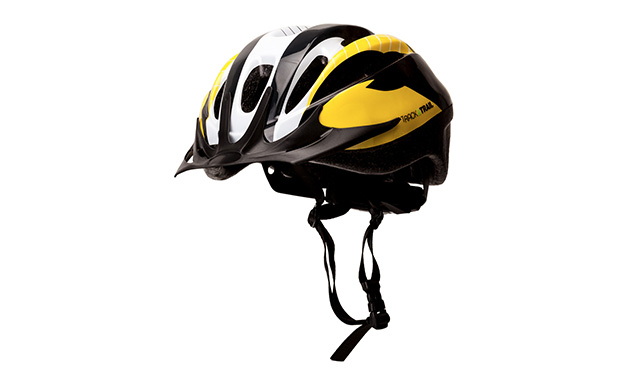 Track and Trail Sport Helmet Yellow